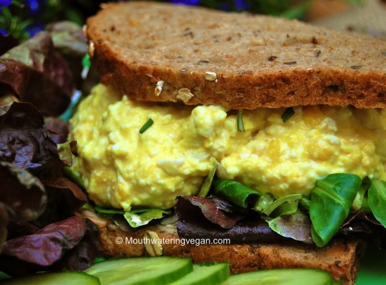 "Vegan ""Egg Salad"" Sandwich You Must Try"