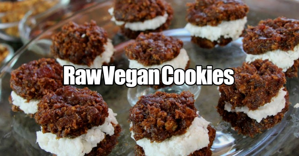 Raw Vegan Oreo Cookie Recipe