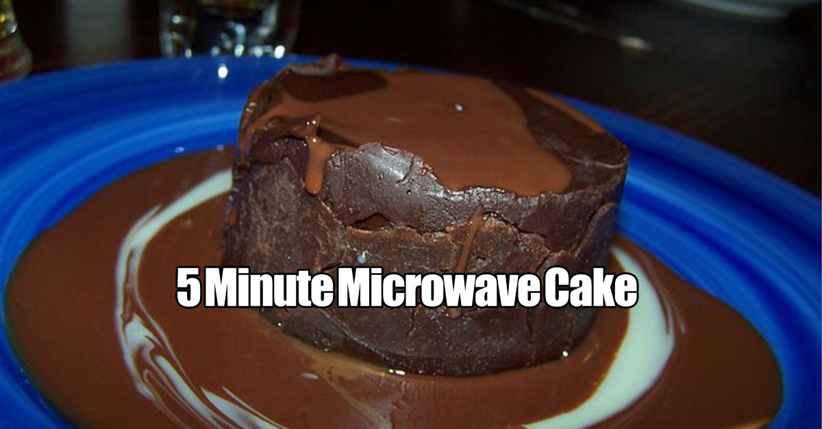 5 minute vegan cake in a cup for Recipe for cake in a cup in the microwave