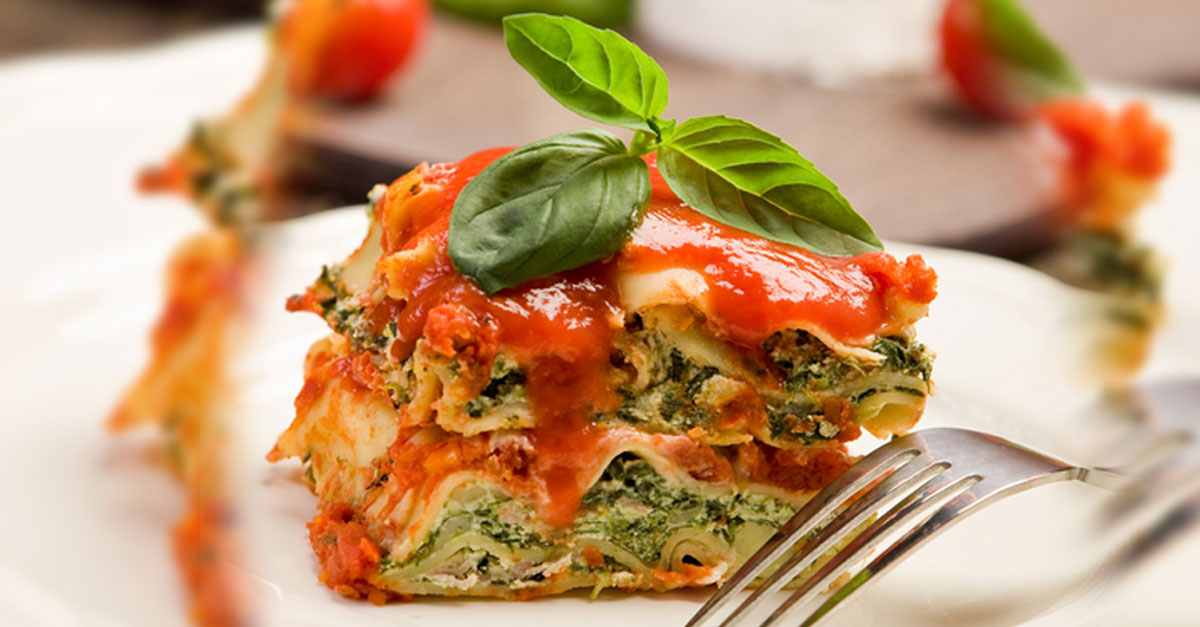 Vegetable Lasagna Recipes — Dishmaps