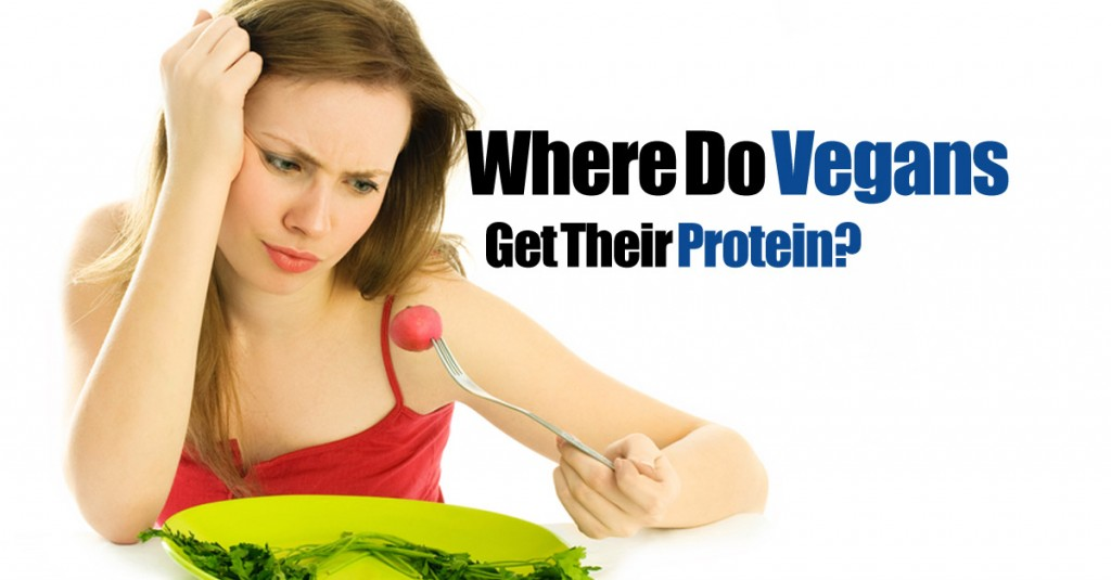 Where do vegans get protein