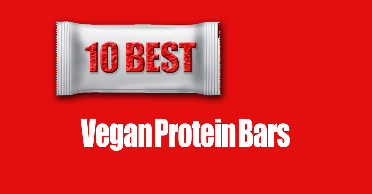 10 vegan protein bars - 10 Vegan Protein Bars