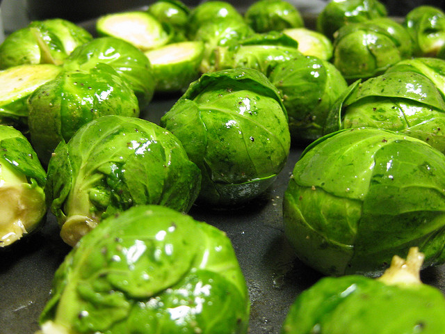 When Brussels Sprouts are cooking they smell like old shoe and body odor mixed!
