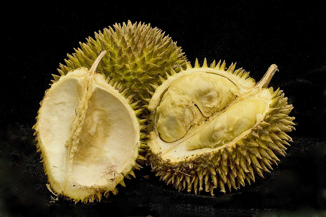This exotic fruit is packed with calories and carbs. It is a delicacy. And it smells so bad most people can't eat it after they buy it.