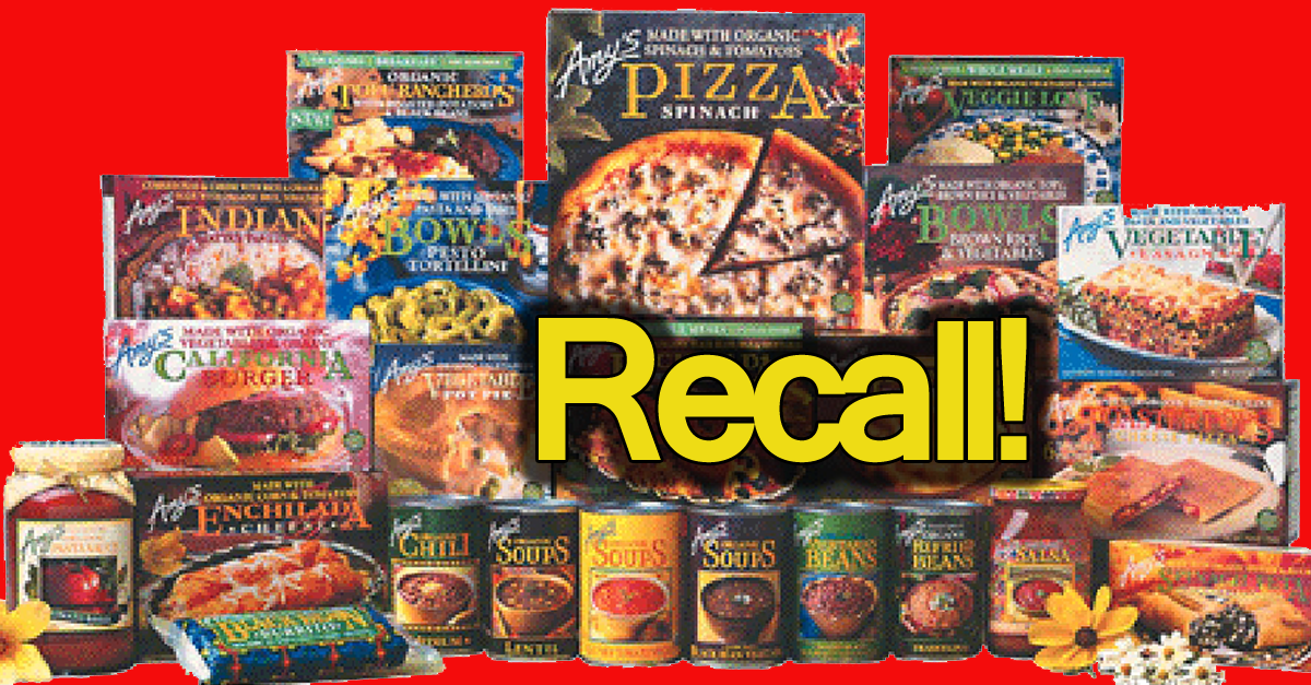 Spread The Word! Amy\'s Kitchen Recalls Products! Listeria ...