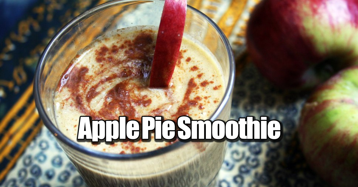 apple pie smoothie - Vegan Apple Pie Smoothie (Gluten-free, Raw, ACD)