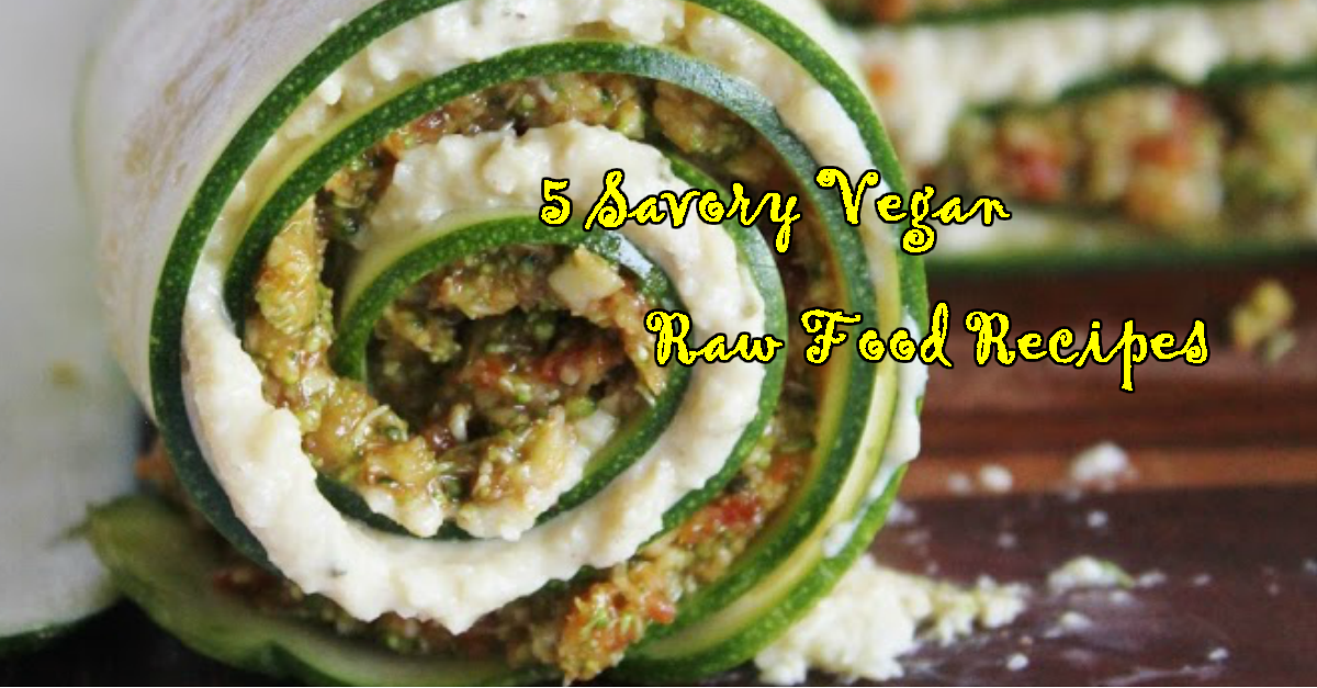 5 savory vegan raw food recipes very vegan recipes forumfinder Image collections