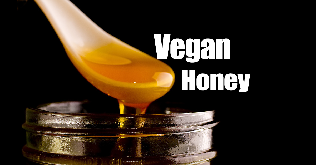 Vegan Honey Recipe - Vegan Honey In 15 Minutes Using Only Two Ingredients!