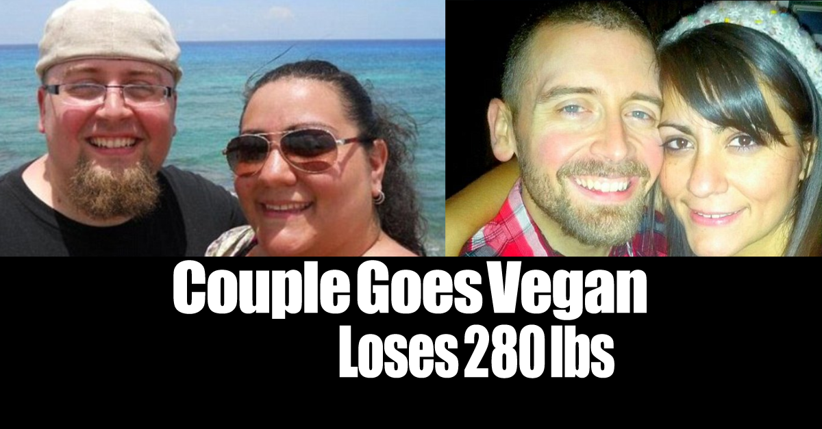 vegan diet lose 280 pounds - Vegan Diet Before and After. From Junk Food Junkies to Vegan Marathon Runners