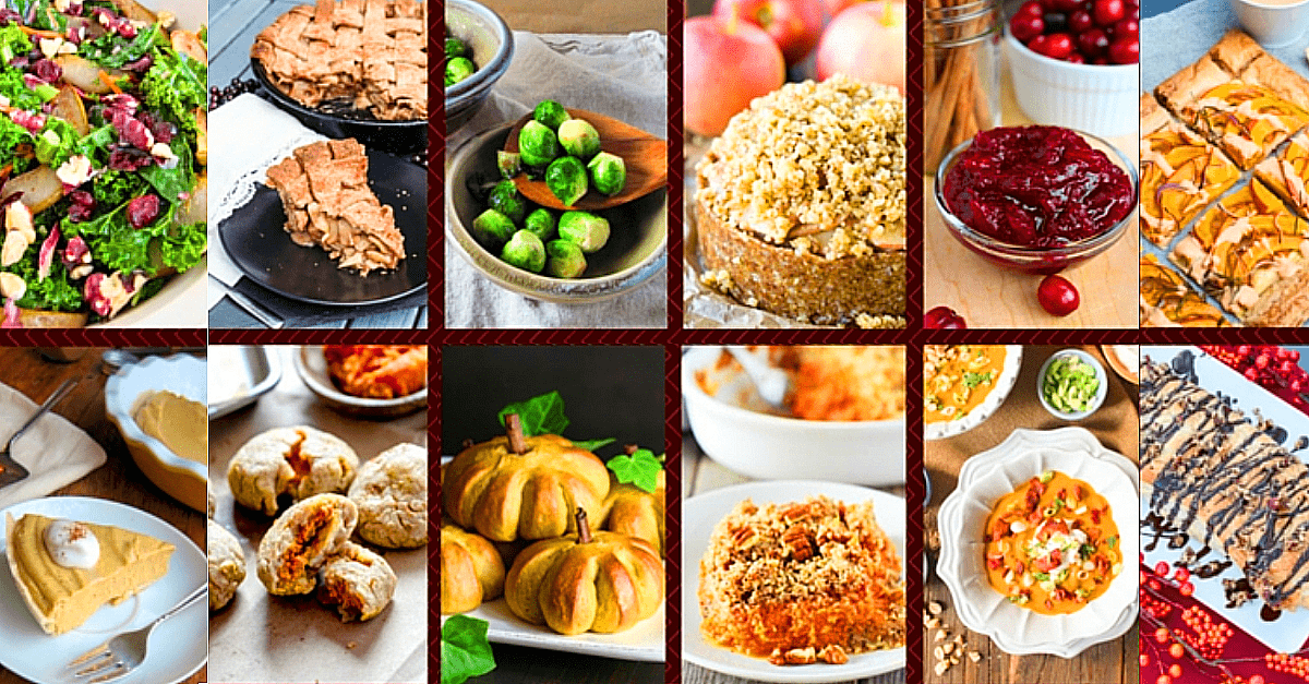 60 Vegan Thanksgivng Recipes - Vegan Thanksgiving Recipe Mega Post: 60 Recipes!