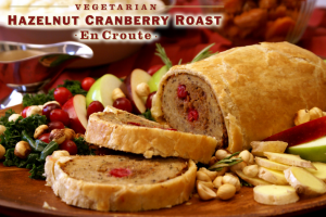 "Hazelnut Carnberry Roast Vegan 300x200 - Vegan Holiday ""Meat Free"" Meat Buying Guide Review"