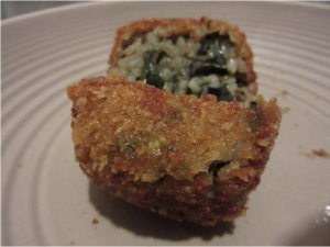 deep fried risotto balls 2