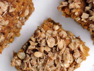 vegan banana pumpkin breakfast cakes 2