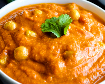 how to make vegan chickpea masala curry recipe 370x297 - Vegan Chickpea Masala Curry
