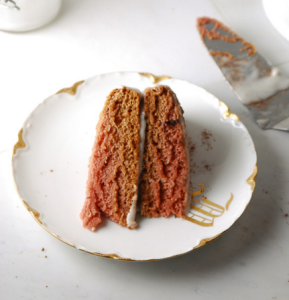 how to make vegan cocoa layer cake with cashew cream icing