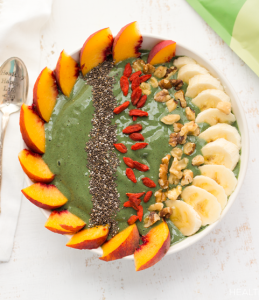 how to make vegan green dream smoothie bowl 259x300 - Vegan Green Dream Smoothie