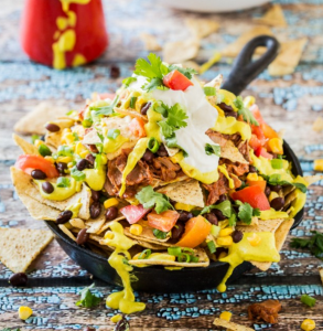 how to make vegan jackfruit nacho supreme