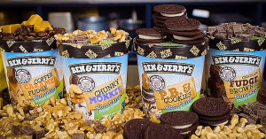 Ben and Jerrys vegan ice cream calories nutrition information