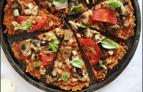 vegan-pizza-cauliflower-crust