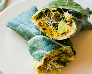 how to make vegan collard hummus wraps with golden beets and sprouts recipe 370x297 - Vegan Collard Hummus Wraps With Golden Beets And Sprouts