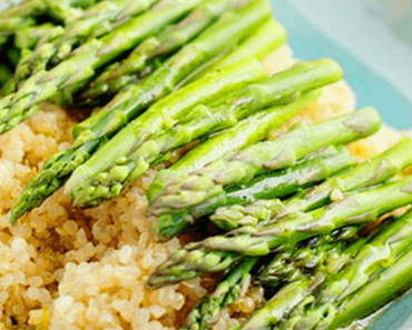 how to make vegan quinoa and asparagus with lemon mustard vinaigrette recipe 370x297 - Vegan Quinoa And Asparagus With Lemon Mustard Vinaigrette