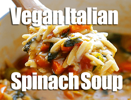 Vegan Italian Spinach Soup