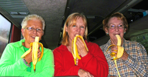 eating bananas every day for a month