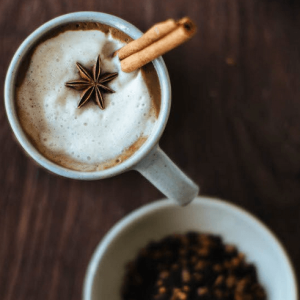how to make vegan maple chai lattes