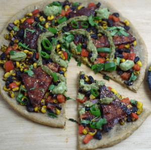 how to make vegan southern bbq pizza