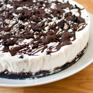 how to make vegan cookies and cream ice cream cake