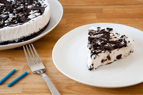 vegan cookies and cream ice cream cake healthy vegetarian diet