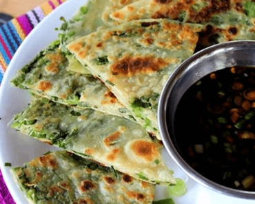 how to make vegan scallion pancakes with dip recipe 370x297 - Vegan Scallion Pancakes With Dip