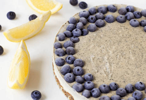 vegan raw earl grey cheesecake plant based healthy easy diet