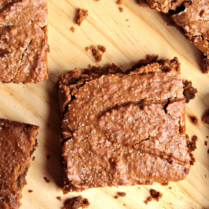 how to make vegan cinnamon blondies