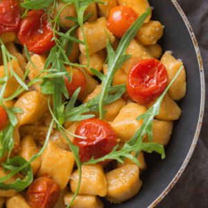 how to make vegan sweet potato gnocchi