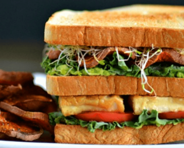 how to make vegan ultimate club recipe 370x297 - Vegan Ultimate Club Sandwich