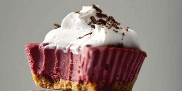 vegan mini no bake red velvet cheesecakes easy healthy diet