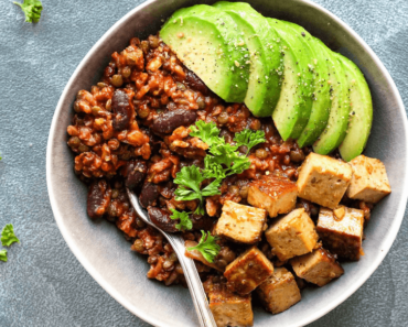 Spicy Tofu And Vegan Enchilada Bowl Recipe 370x297 - Spicy Tofu Vegan Enchilada Recipe