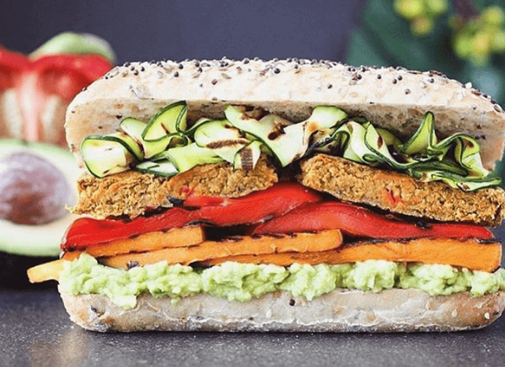 Vegan sandwich recipe lentils - Vegan Lentil And Pumpkin Patty Sandwich