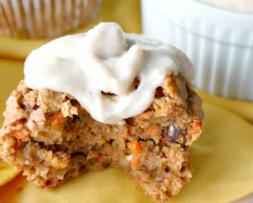 vegan carrot cake mini muffin recipe 370x297 - Vegan Bite Sized Carrot Cakes