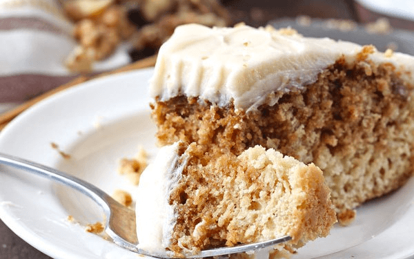 vegan cinnamon roll cake - Vegan Cinnamon Roll Cake