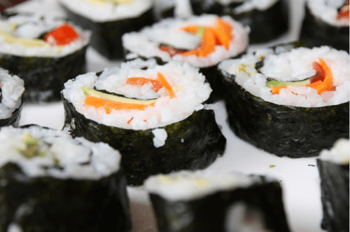 how to make vegan sushi rolls