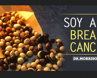 soy breast cancer research 370x297 - Don't Fear Soy: Research Shows It's Beneficial For Breast Cancer