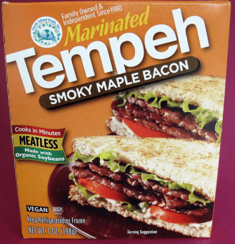 tempeh bacon tofurky 481x500 - What The Heck Is Tempeh, And How Do I Cook It?