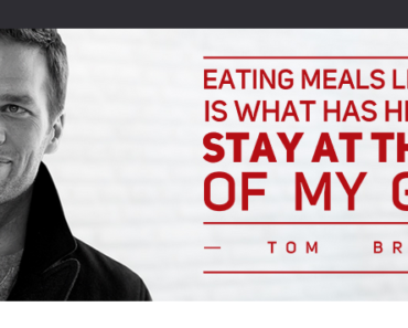 tom brady vegan meal service 370x297 - Superbowl Champ Tom Brady Will Deliver His Vegan Meals To Your Door