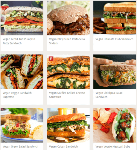 vegan burger recipes 458x500 - Vegan Burgers, Vegan Pasta, Vegan Salads