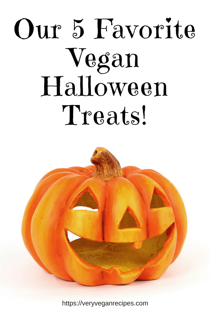 vegan halloween pumpkin