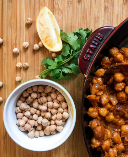 ketchup chickpea curry