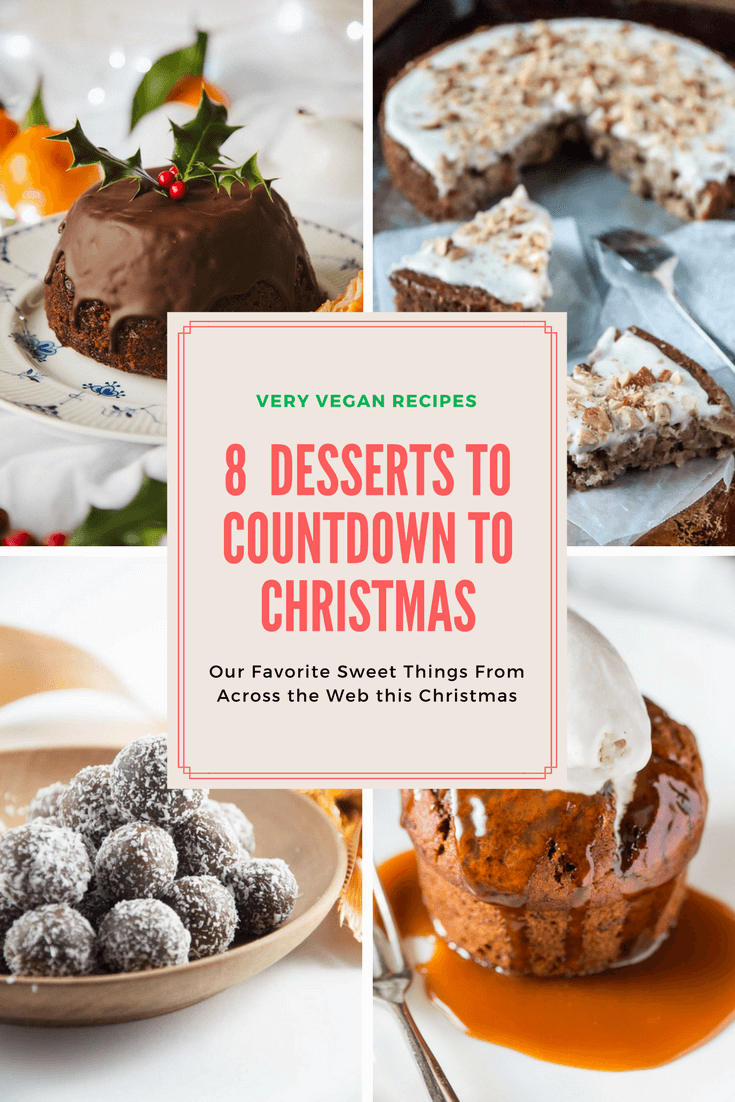 8 Delicious Vegan Christmas Desserts and Sweets